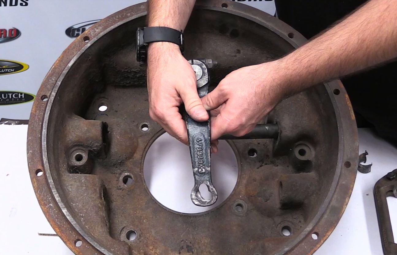Clutch Thrust Bearing Bent