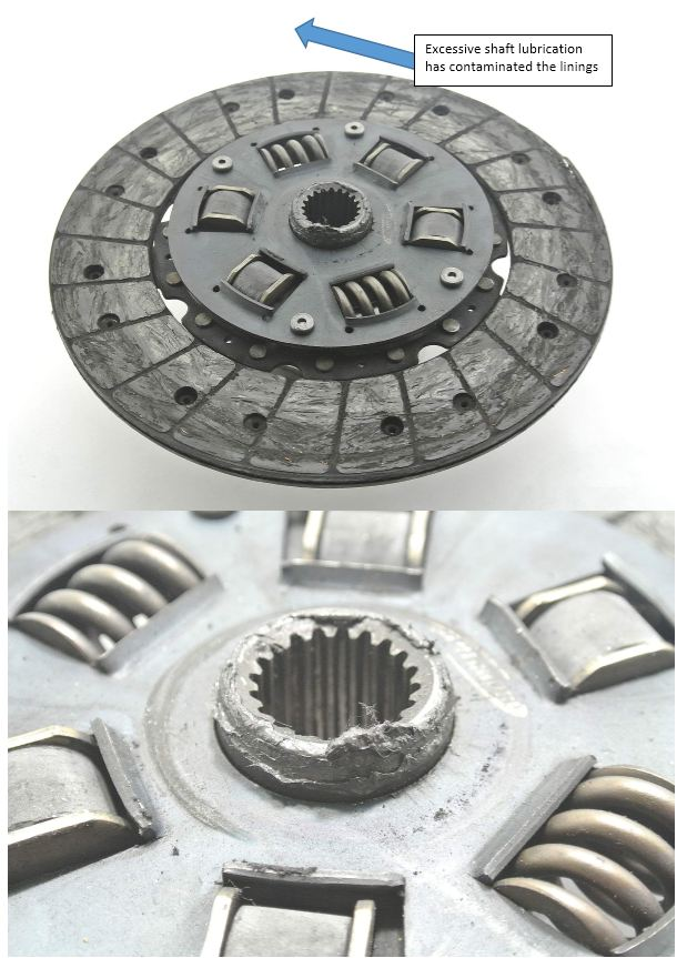 Grease on Friction Surfaces - Australian Clutch Services